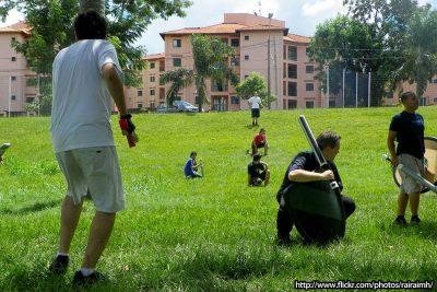 Treino Gladius Swordplay Boffering Larp no Parque Maurilio Biagi